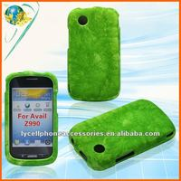 For ZTE Avail Z990 New Model Cell Phone Hard Rubber Case-Green Marble skin