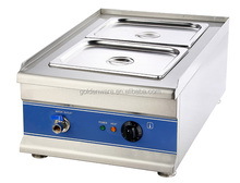 Golden ware Wholesales kitchen equipment commercial 2 pan mini buffet electric bain marie food warmer