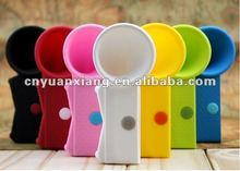 New arrival 2012 silicone cases with speaker for iphone4/4s