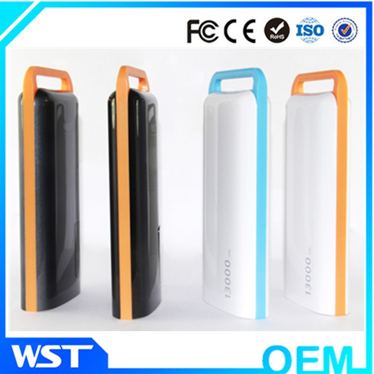 WST Private Label 13000mah Rechargeable Battery Pack Power Supply High Capacity Portable Mobile Power Bank