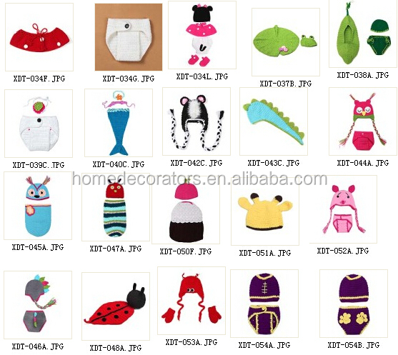 2014 wholesale funny knit winter animals hat set