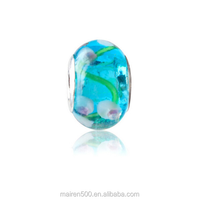 RL-28 bulk buy from china lampwork glass bead for bracelet making