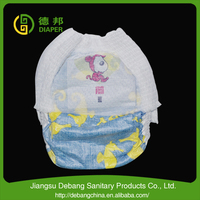 Japan new products baby diaper with PE film