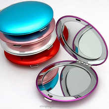 Blank Sublimation Double Magnifying Compact Cosmetic Make up Hand Mirror