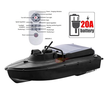 JB2A electronic compass small auto navigation gps jabo fishing boat with 20A battery