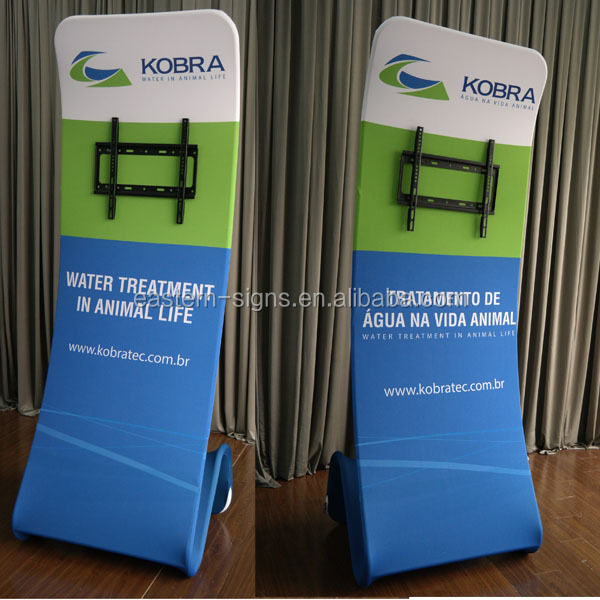 Portable advertisement TV stand