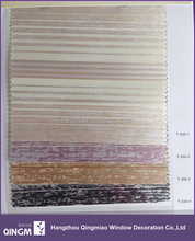 Roller Type And Slat Style Jacquard Fabric Roller Blinds