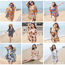 Women Fashion Summer Kimono Girls Loose Tops Blouse Fancy Beach Tunic Cover Up