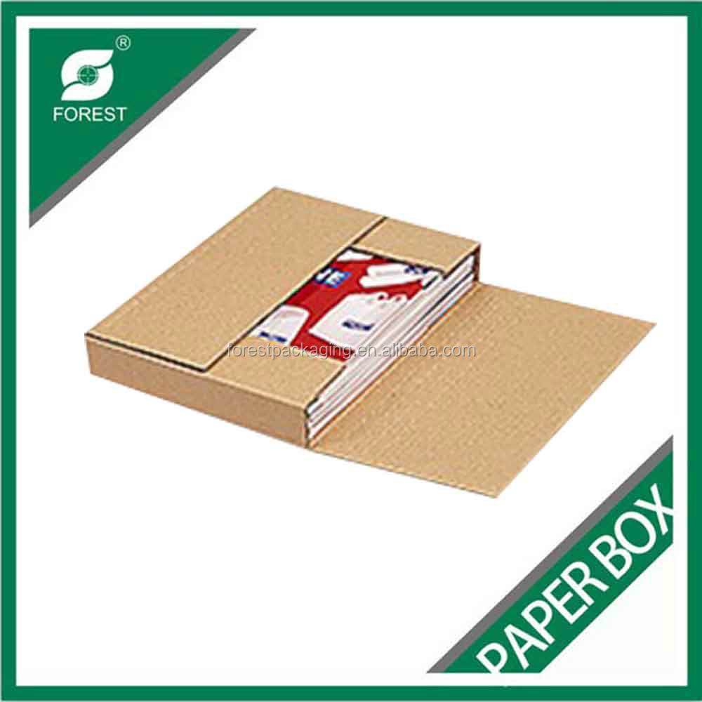 COLORFUL ECO-FRIENDLY STAY FLAT RIGID MAILERS BOX