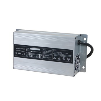 CE&ROHS Approved Battery Charger 12V10A with 110V Input and US Plug