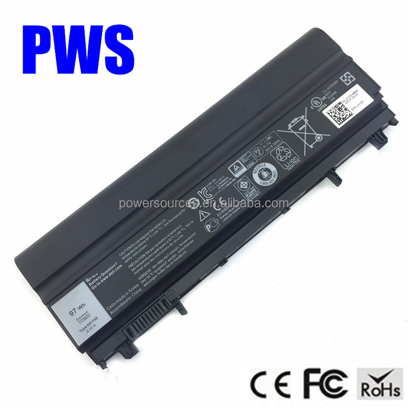 9 cell high capacity Laptop Battery for Dell Latitude E5440 E5540 battery N5YH9 451-BBID FT6D9 3K7J7 M7T5F CXF66 97wh