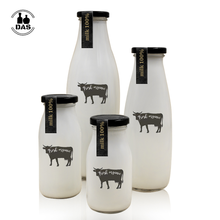 200ml 250ml 500ml 1000ml fresh milk bottle glass