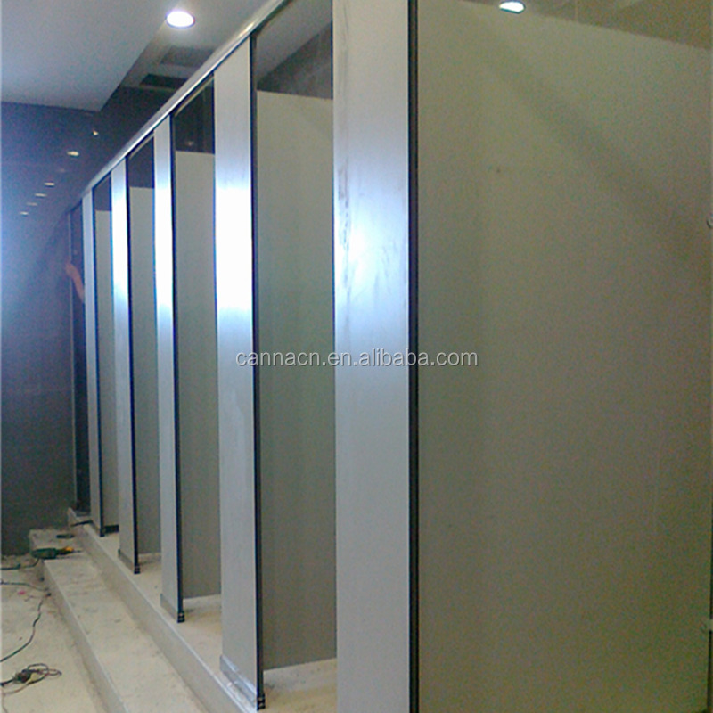 phenolic compact laminate panel used for public toilet cubicles