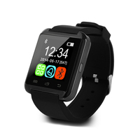 Chinese U8 bluetooth smart wrist watch wholesale mtk 6260 smart watch phone