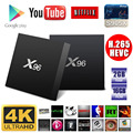 Android 6.0 Marshmallow Tv Box Penta-core GPU X96 Android Tv Box S905x fire tv stick android free download game player