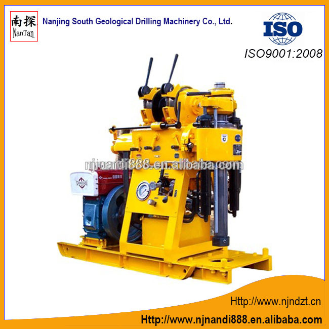 XY-1B 30m-150m depth diesel portable core drilling rig