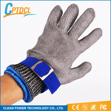 new arrival stainless steel safety gloves fingers protection cut resistant metal wire mesh working glove