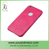 Leather clamshell universal case cover for 4.7 inch cell phone for iphone6