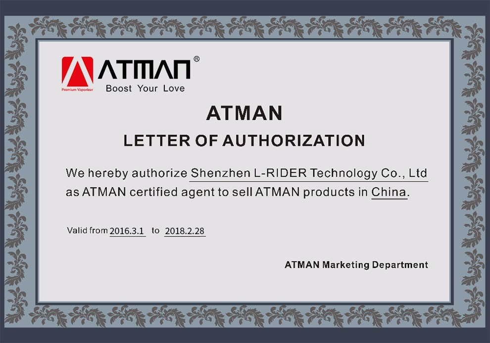 ATMAN Starlight portable dry herb vaporizer box mod vaporizer for both herb and wax
