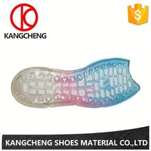 Hot sale machine colorful jelly shoe sandal clear pvc sandals cheap women's for tight teeth