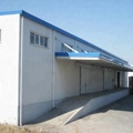 prefabricated famous steel structure buildings design