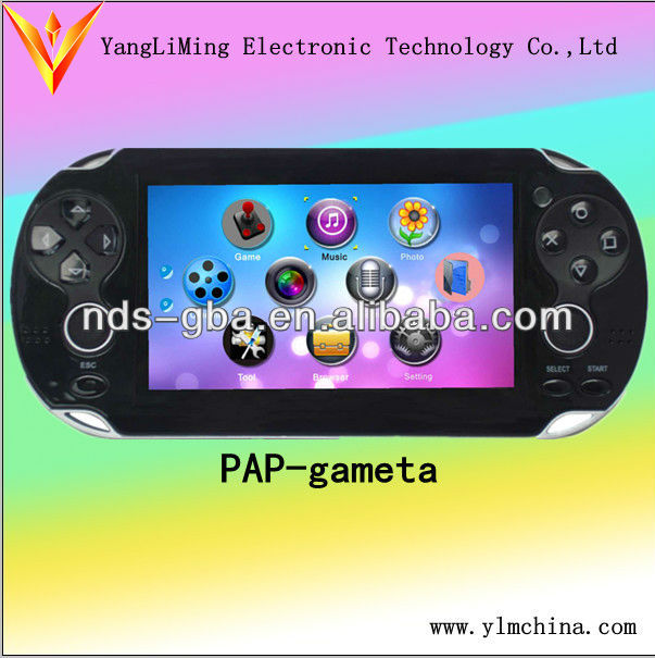 2013 32bit game player built in thousands games with MP5 fuction