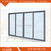 YY Home heavy duty Australian standard soundproof glazed aluminum rv sliding doors