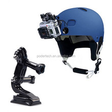 Go pro Helmet Front Mount for GoPros HEROs Cameras Accessories set Go pro hero4 session mount GP19