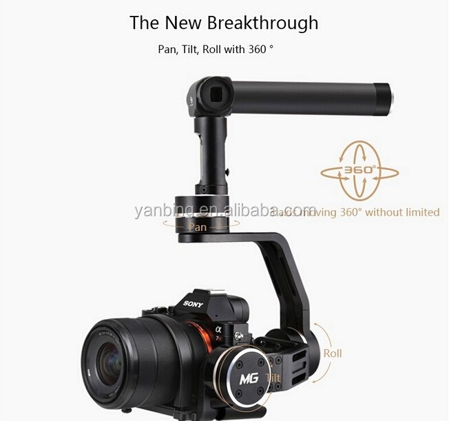 New releasted Feiyu MG 3-Axis brushless handheld steadycam dslr camera gimbal stabilizer for GH4 Sony A7SII