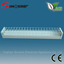 new design t8 fluorescent light fixture cover lighting fitting netwater proof flourescent sinks stainless steel from foshan