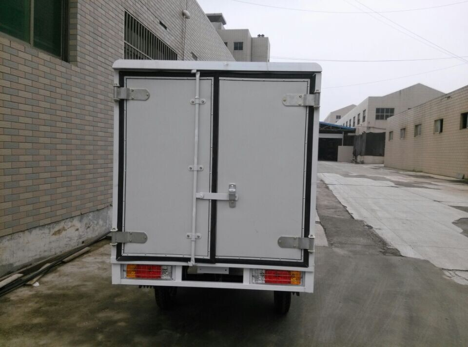 150cc-300cc closed wagon covered van cargo tricycle with cabin (SY150ZH-C3)