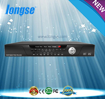 LONGSE H.264 24CH 1080P NVR all real time Support Remote View by Smart Phone Support IE and Special CMS LS-N3524E