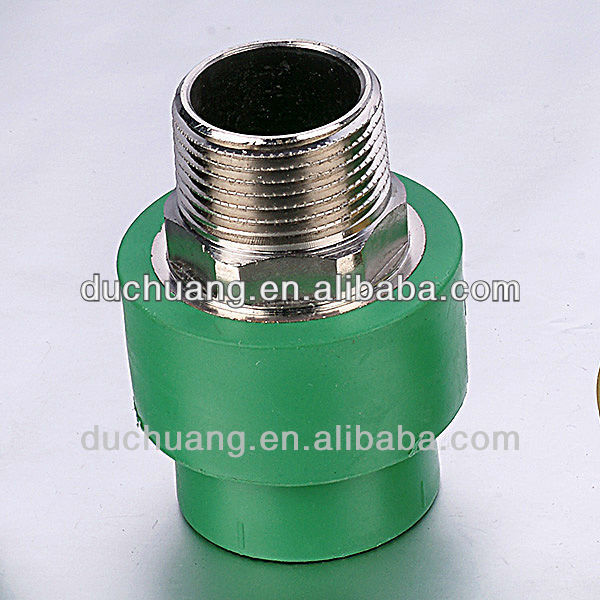 Green Plastic Adjustable Pipe Fittings