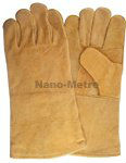 NMSAFETY leather soldering gloves