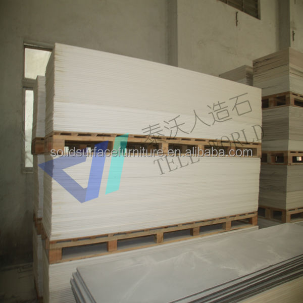 Solid surface raw material, acrylic solid surface sheet