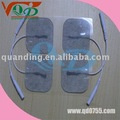 40*40mm TENS EMS electrode with the transparent conductive gel