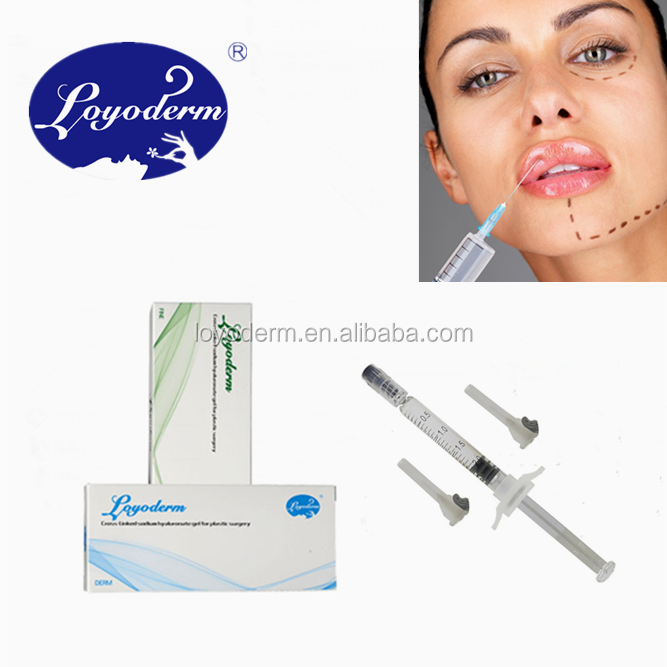 Buy injectable facial filler hyaluronic acid dermal filler for lips augmentation