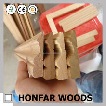 red oak white wood sapele teak wood mould for indoor decor