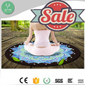 Custom design ultra anti slip rubber mat roll eco round yoga mat