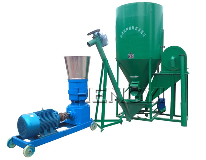 Good Quantity animal poultry feed pelletizer/roller pelleting machine