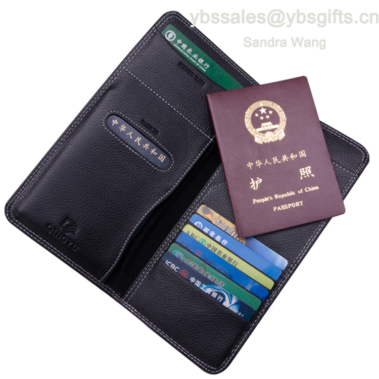 Cow Leather RFID Blocking Case Cover Comfortably Holds Passport Travel Wallet And Passport Holder