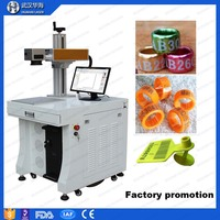 pigeon ring laser fiber printing machine with rotary