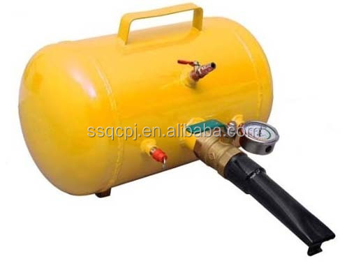 China carbon steel small Tire air tank /bead seater booster blaster