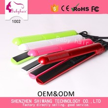China Suppliers Fashionable Designed Cheap Travel Size Mini Portable Hair Straightener