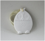White Ceramic Hanging Lovely Owl Air Fresheners For Car Fragrance Diffuser