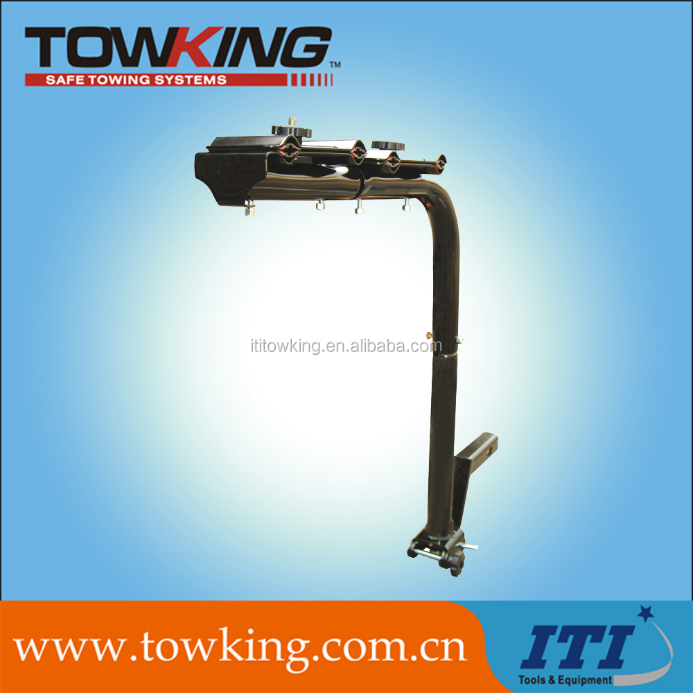 trailer parts towing accessory mounted bicycle carrier