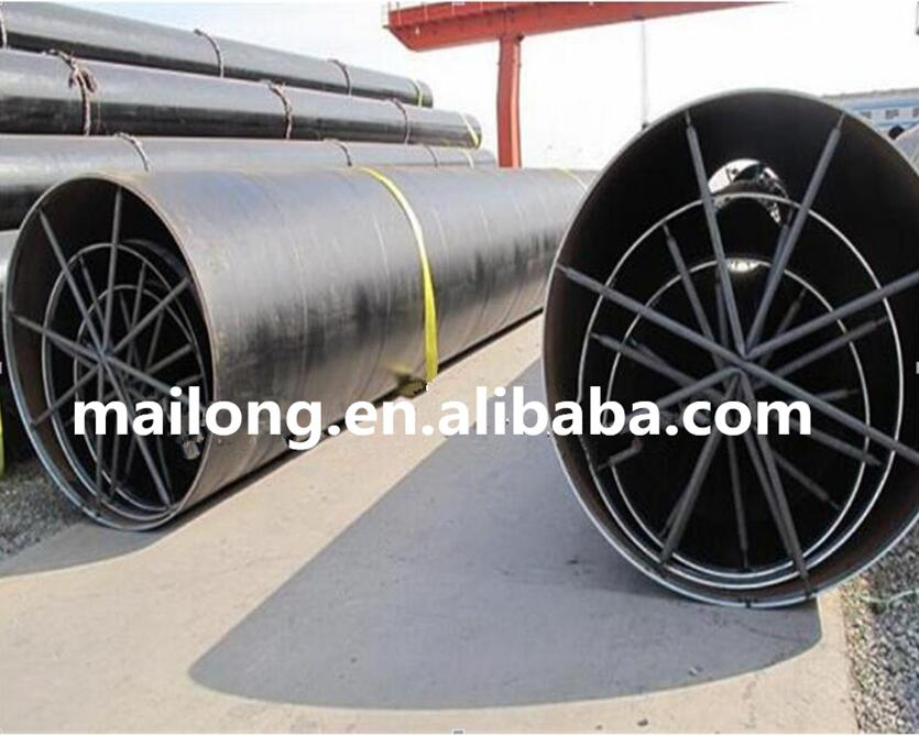 Oil and gas High strength steel spiral welded steel pipe