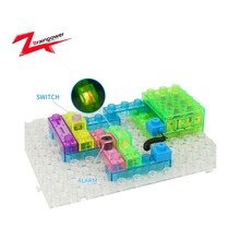 High quality building blocks densified eps electronic toys