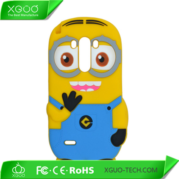minion despicable me silicone animal shaped case for lg g3