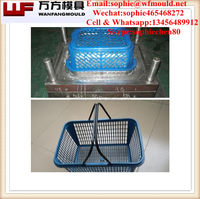 alibaba Plastic Waste Basket Injection Mould and household products Mould 2017 new waste basket injection mold